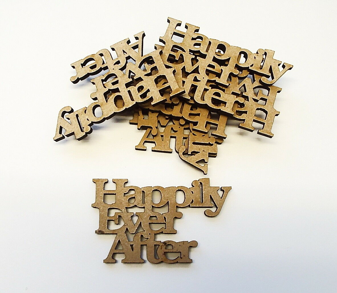 Large Wooden Letters Wall mountable 3 sizes different styles 6mm thick